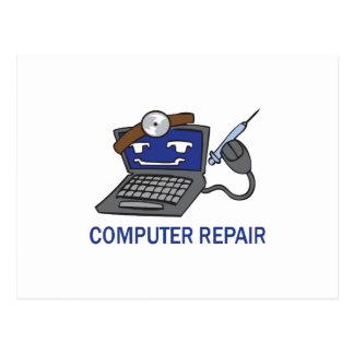 COMPUTER REPAIR POSTCARD