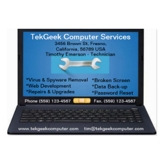 Computer Repair & Services Business Card