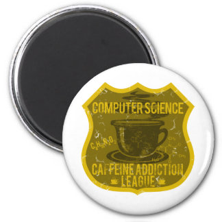 Computer Science Caffeine Addiction League Magnet