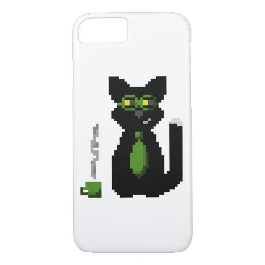 Computer Science Coder Pixel Cat Case