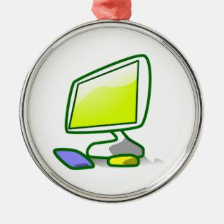 Computer Screen Christmas Tree Ornaments