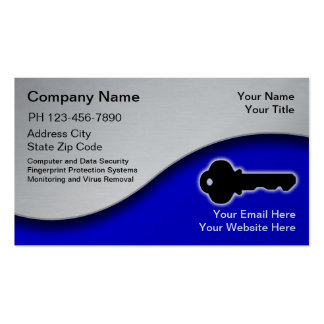 Computer Security Business cards