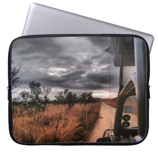 Computer Sleeve, African Safari Scene Laptop Sleeve