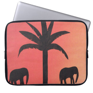 Computer Sleeve with Elephant Design