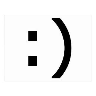 Computer Smiley Postcard