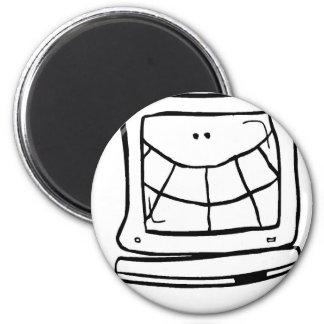 Computer Smiling Magnet