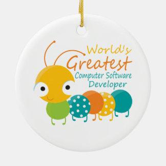 Computer Software Developer Ornament