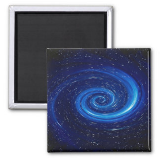 Computer Space Image Square Magnet