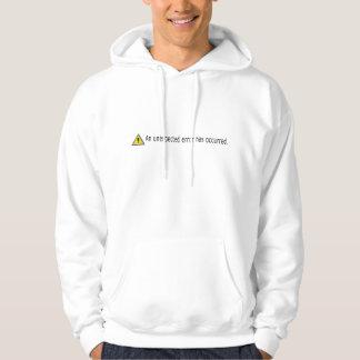 Computer sysadmin unexpected error icon sweatshirts