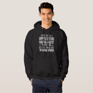 COMPUTER SYSTEMS HARDWARE ANALYST HOODIE