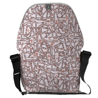 COMPUTER TREKKIE MESSENGER BAG