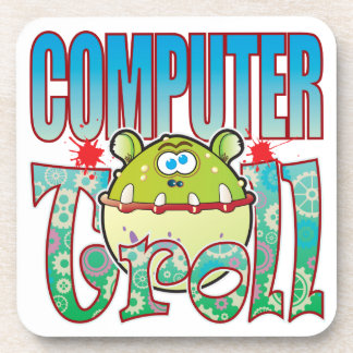 Computer Troll Drink Coasters