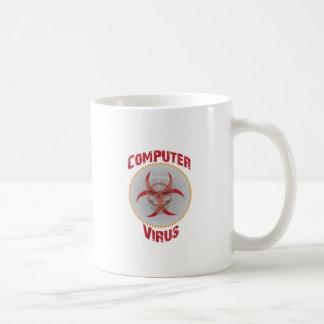 Computer Virus Basic White Mug