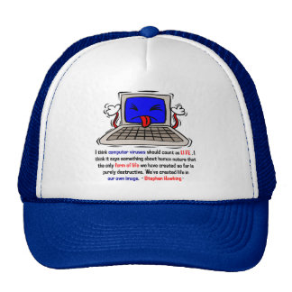 Computer Viruses are Alive (2) Mesh Hat