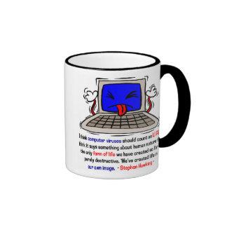 Computer Viruses are Alive (2) Mug