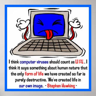 Computer Viruses are Alive 2 Print