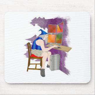 computer wizard mousepads