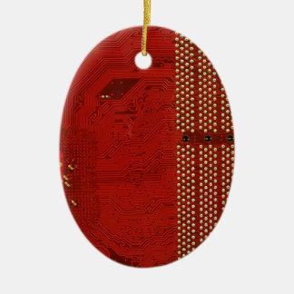 Computer Works Christmas Tree Ornament