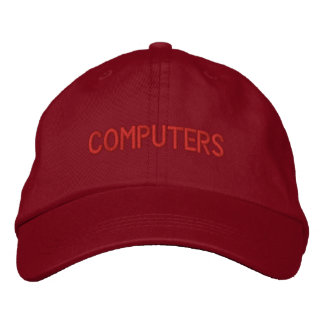 Computers Hat Embroidered Baseball Caps