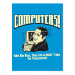 Computers: Like the Boss Postcard