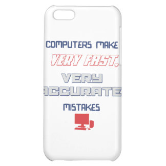 Computers make accurate mistakes iPhone 5C covers