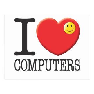 Computers Postcard