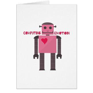 Computing Emotion Greeting Card