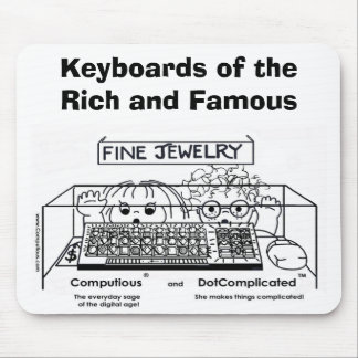 Computious & DotComplicated(TM) Bling-Bling Mouse Mat