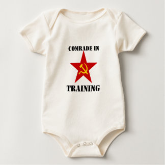 Comrade in Training Rompers