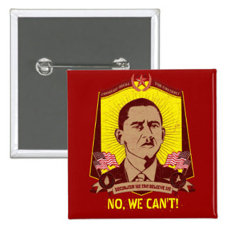 Comrade Obama Customizable Slogan Button Pins
