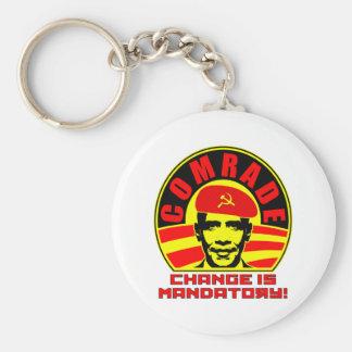 Comrade Obama  Keychain
