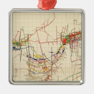 Comstock Mine Maps Number IV Christmas Ornament