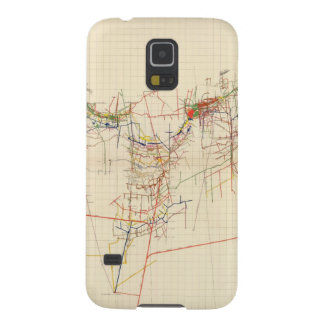 Comstock Mine Maps Number IV Galaxy S5 Case