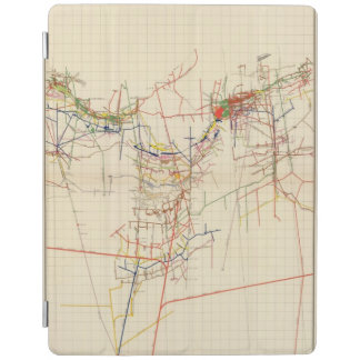 Comstock Mine Maps Number IV iPad Cover