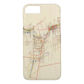 Comstock Mine Maps Number IV iPhone 8/7 Case