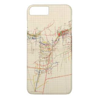 Comstock Mine Maps Number IV iPhone 8 Plus/7 Plus Case
