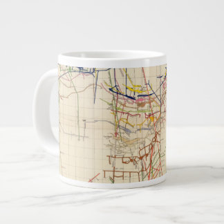 Comstock Mine Maps Number IV Large Coffee Mug