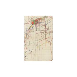 Comstock Mine Maps Number IV Pocket Moleskine Notebook