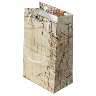 Comstock Mine Maps Number IV Small Gift Bag