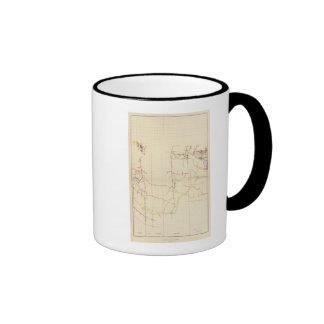 Comstock Mine Maps Number V Mugs