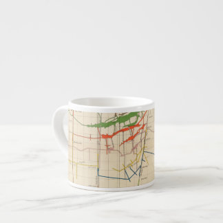 Comstock Mine Maps Number VI Espresso Cup