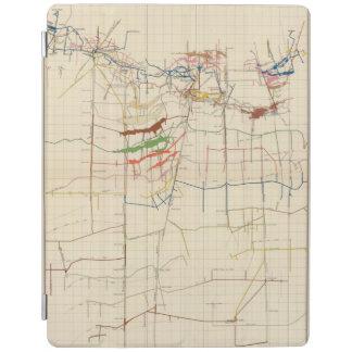 Comstock Mine Maps Number VI iPad Cover