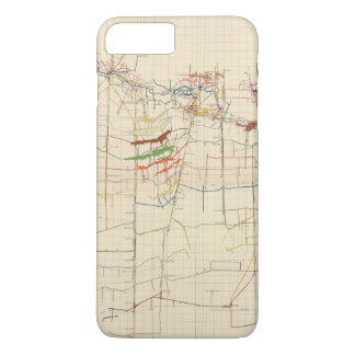 Comstock Mine Maps Number VI iPhone 8 Plus/7 Plus Case