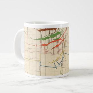 Comstock Mine Maps Number VI Jumbo Mug