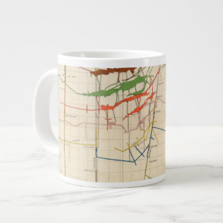 Comstock Mine Maps Number VI Large Coffee Mug