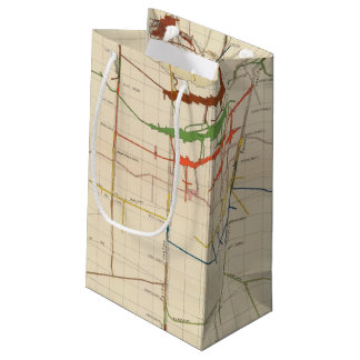 Comstock Mine Maps Number VI Small Gift Bag