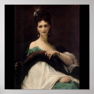 Comtesse de Keller Print