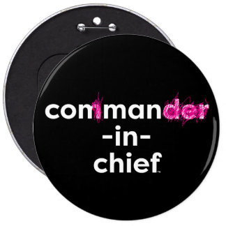 Con Man In Chief 6 Cm Round Badge