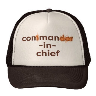Con Man In Chief Cap
