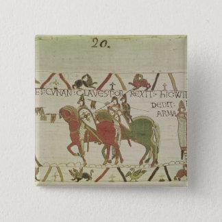 Conan, Duke of Brittany 15 Cm Square Badge